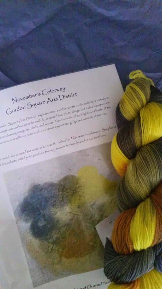 November Yarn of the Month (2/2)