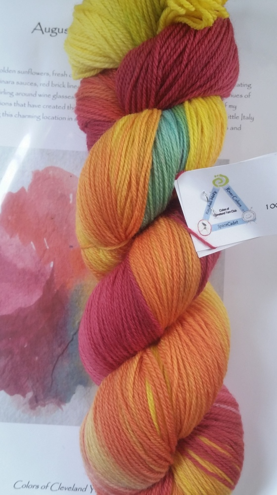 August Yarn of the Month (2/2)