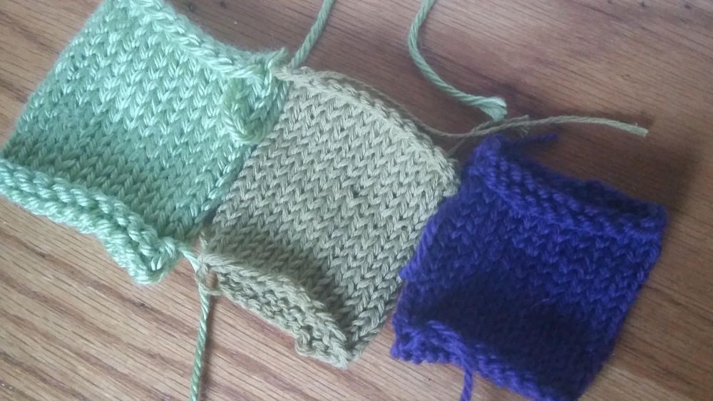 My First Test Knit (1/4)